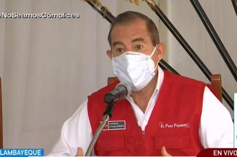 """Premier Walter Martos: """"Probablemente los vuelos internacionales se reinicien en octubre"""""""