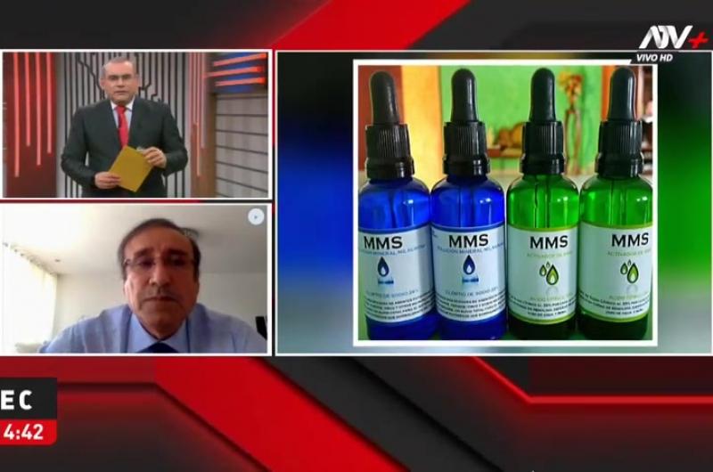 Colegio Médico investiga a doctores por recomendar dióxido de cloro