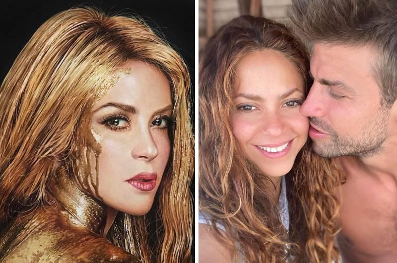 Shakira presume su derrier en diminuto bikini y luce su rostro sin maquillaje a sus 43 años