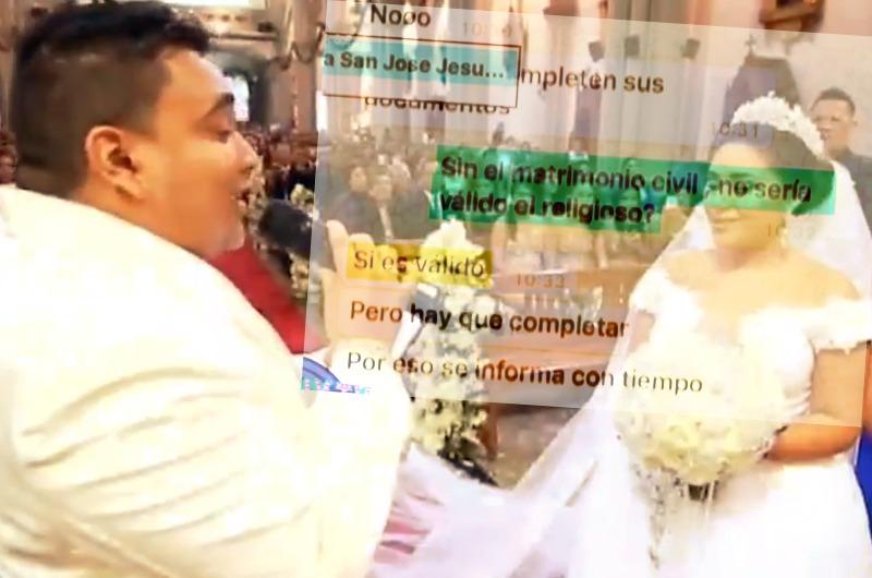 """Boda de Josimar con Gianella Ydoña no sería """"simbólica"""" como dice el salsero"""