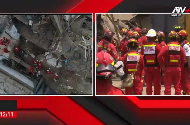Bomberos confirman que obrero fue hallado sin vida