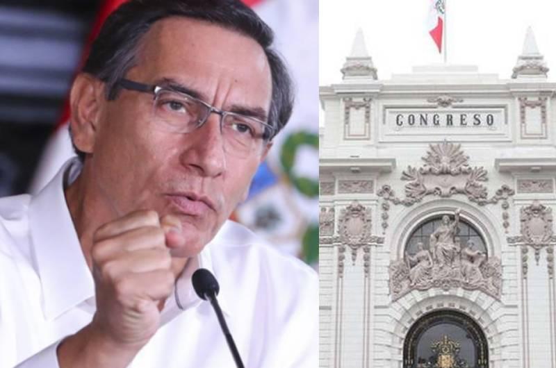 Presidente Vizcarra exhorta al Congreso a aprobar proyectos de ley pendientes