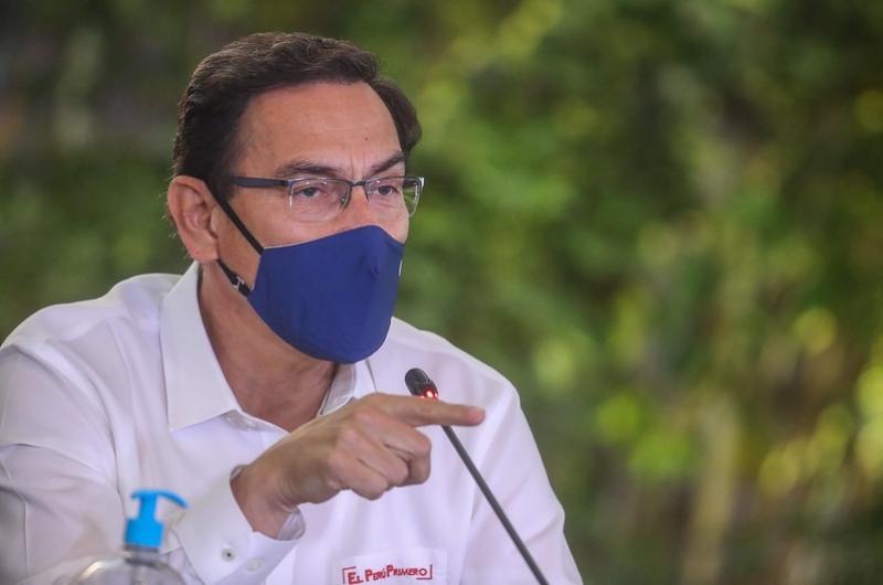 """Martín Vizcarra sobre invitación del Congreso: """"Este Gobierno es claro y transparente"""""""