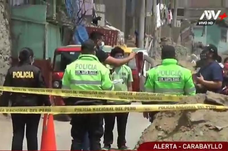 Carabayllo: Asesinan a joven de dos disparos en la vía pública