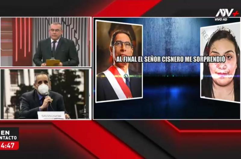 """Ricardo Burga: """"Estoy a favor que se admita la moción de vacancia"""""""