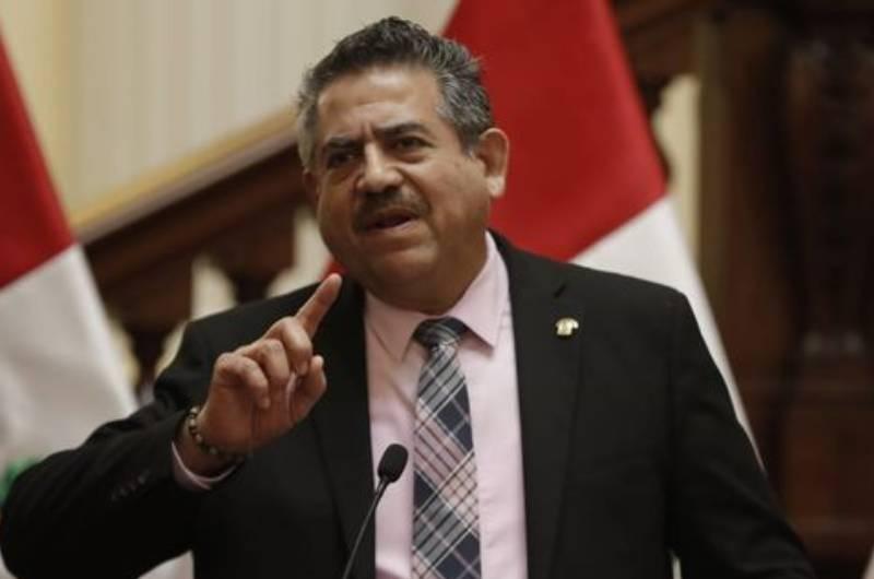 """Manuel Merino sobre comunicaciones con Fuerzas Armadas: """"No se habló sobre vacancia"""""""