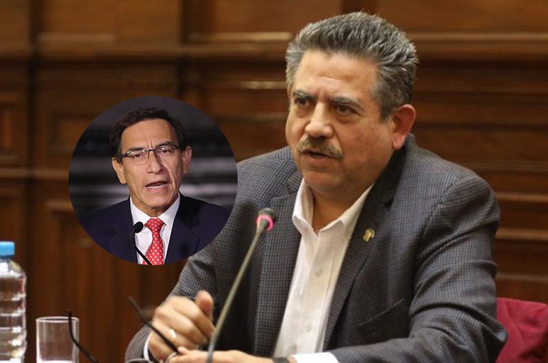 """Manuel Merino sobre demanda competencial: """"El presidente tiene que venir a responder al Congreso"""""""