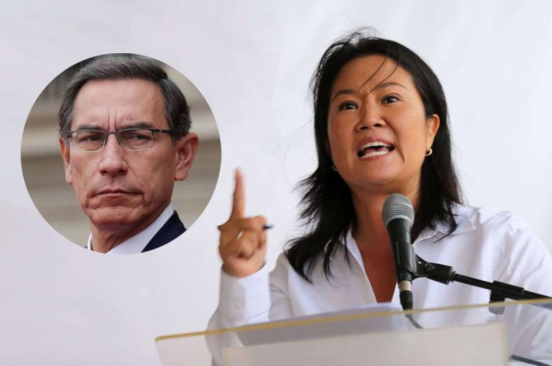 """¿Keiko Fujimori reapareció para defender al presidente?: """"No existen elementos suficientes para vacarlo"""""""