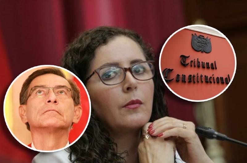 """Rosa Bartra a presidente Vizcarra: """"Si no es un farsante, no se esconda tras el TC"""""""