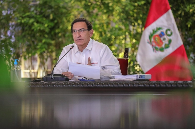 """Martín Vizcarra se ratifica en el cargo: """"¡No voy a renunciar!"""""""