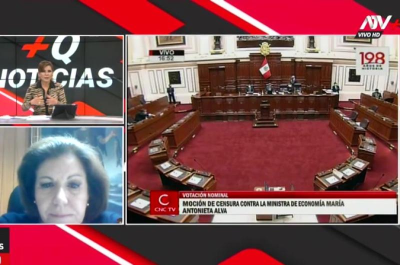 Lourdes Flores Nano analizó la situación del Presidente Vizcarra