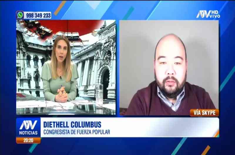 """Diethell Columbus: """"Apoyemos que el Ejecutivo haga su trabajo"""""""