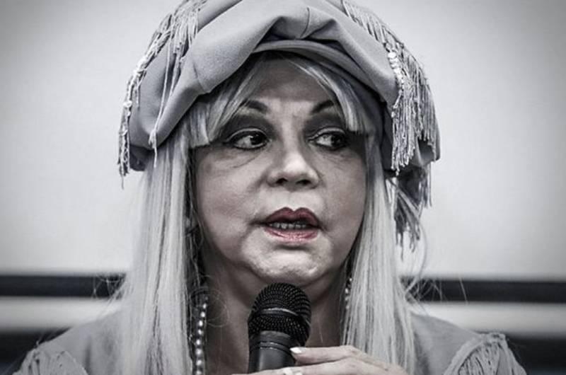 Yola Polastri denuncia que 'robacasas' estuvo en el techo de su vivienda