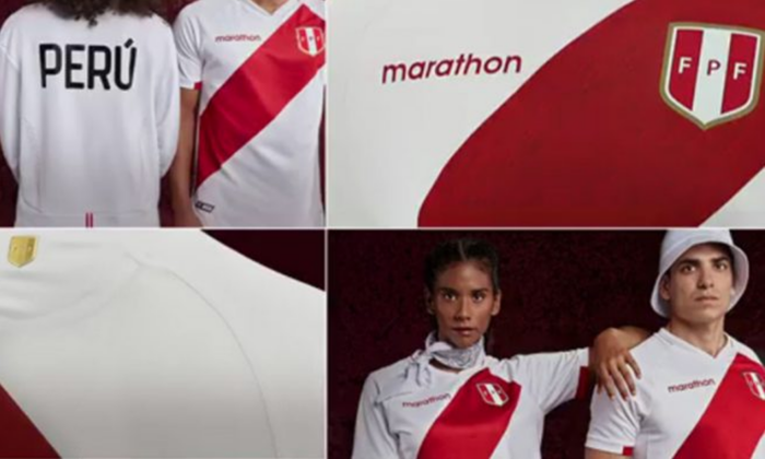 Nueva camiseta de Perú