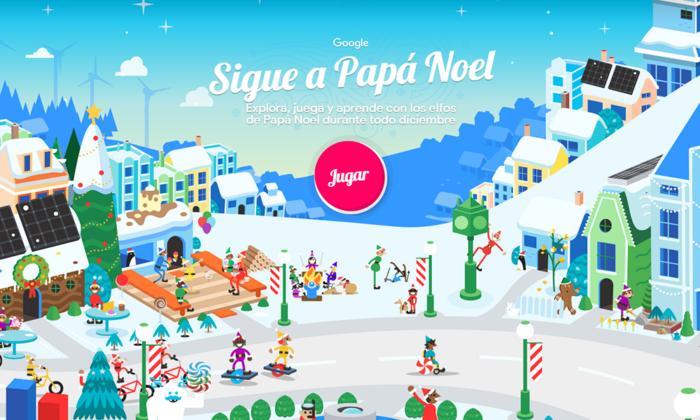 Papa Noel Tracker